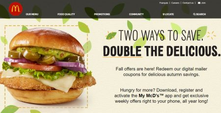 mcdonald s new mcdonalds printable coupons until oct 8