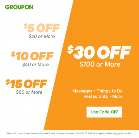 Groupon is a major daily deals & local coupons retailer which operates the website taboredesc.ga As of today, we have 2 active Groupon promo codes, 1 personal referral code, 1 single-use code and 6 sales/5().