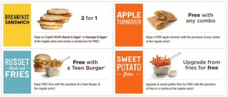 coupons for free food canada