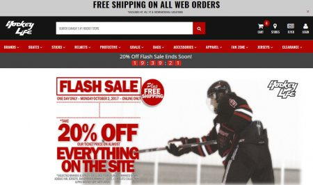 c7d83722237 Pro Hockey Life  Flash Sale – 20% Off Everything + Free Shipping All Orders  (Oct 2)