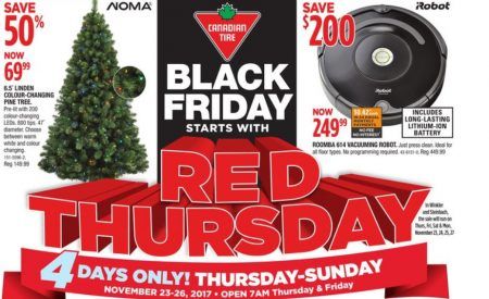 Canadian Tire Red Thursday Big Red Weekend Lowest Prices Of The