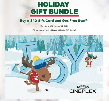Cineplex holiday gift bundle buy 40 gift card get free stuff cineplex holiday gift bundle buy 40 gift card get free stuff until dec 31 negle Images