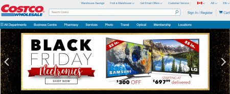 Black friday electronics event nov 24 30 for Las vegas hotels black friday deals