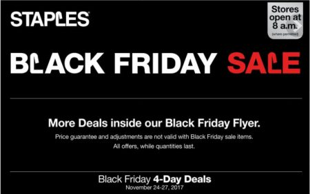 Staples black friday sale nov 24 27 calgary deals blog for Las vegas hotels black friday deals