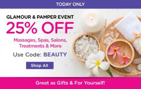 livingsocial com today only extra 25 off beauty spa deals
