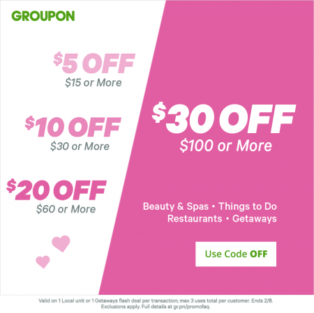 When your friend clicks the link, joins Groupon, and buys a deal worth $10 or more within the first 72 hours, you'll receive your $10 Groupon credit within seven days. Groupon Bucks can be used toward any Groupon purchase, including local deals, Getaways, and Goods.