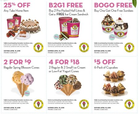 image about Ice Cream Coupons Printable known as Marble Slab Creamery: Fresh Printable Discount codes (Till Apr 15