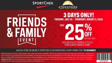 sport chek coupon 2019