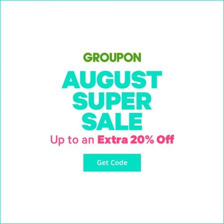 GROUPON: Extra 20% Off Local Deals, Extra 10% Off Goods