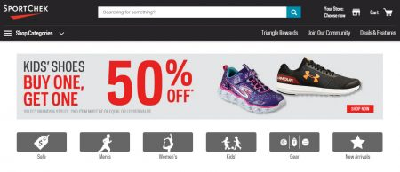 aecdce36272 Sport Chek: Kid's Shoes - Buy One, Get One 50% Off (Aug 5-15 ...
