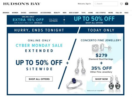 TheBay com: Today Only – Sale $279 for Diamond Stud Earrings