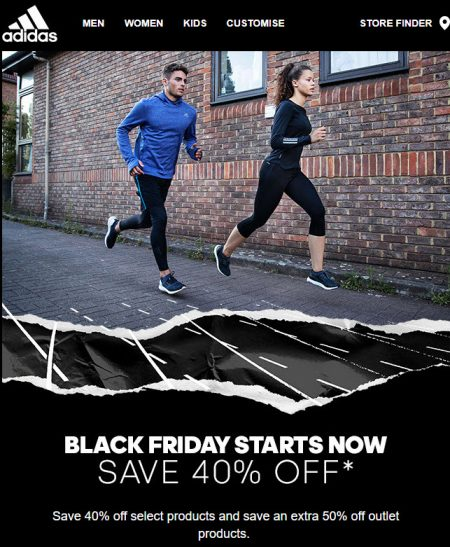 af283b4ff93023 Adidas.ca: Black Friday Sale – Save 40% Off Select Products, 50% Off Outlet  Products (Nov 23-25)