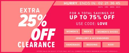 Hudson S Bay Extra 25 Off Clearance Promo Code For A Total Savings Of Up To 75 Off Feb 8 10 Calgary Deals Blog