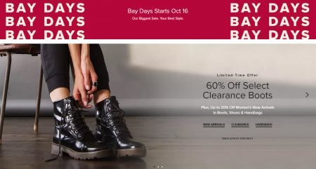 Bay: 60% Off Select Clearance Boots