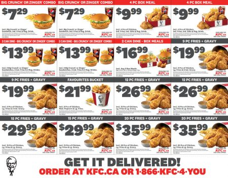 Kfc Download New Printable Coupons Winnipeg Deals Blog